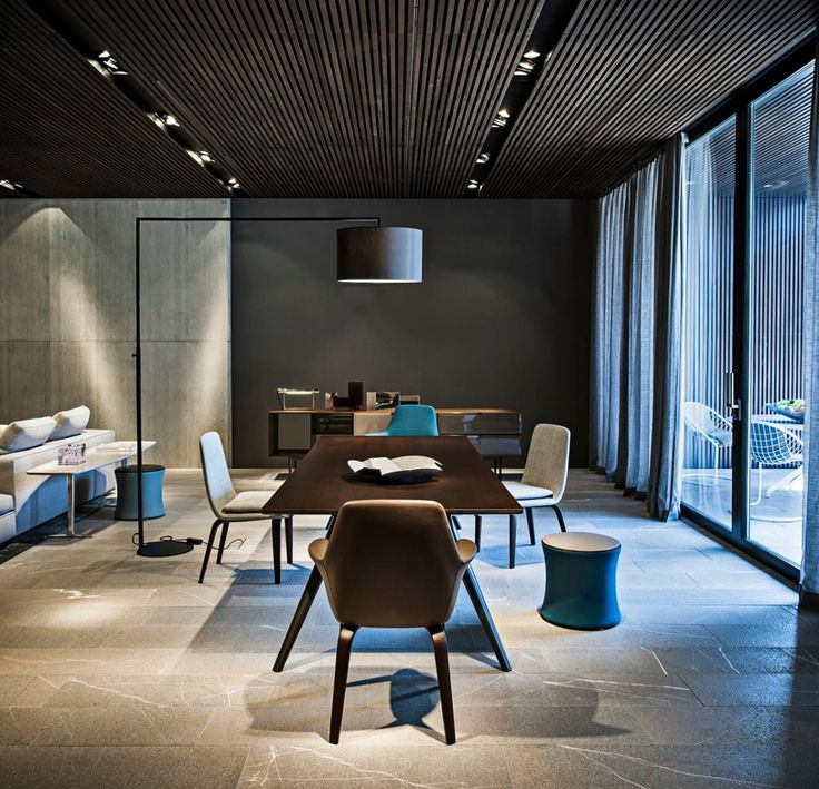 Spazio Minotti - Dedece Blog...great feature wall