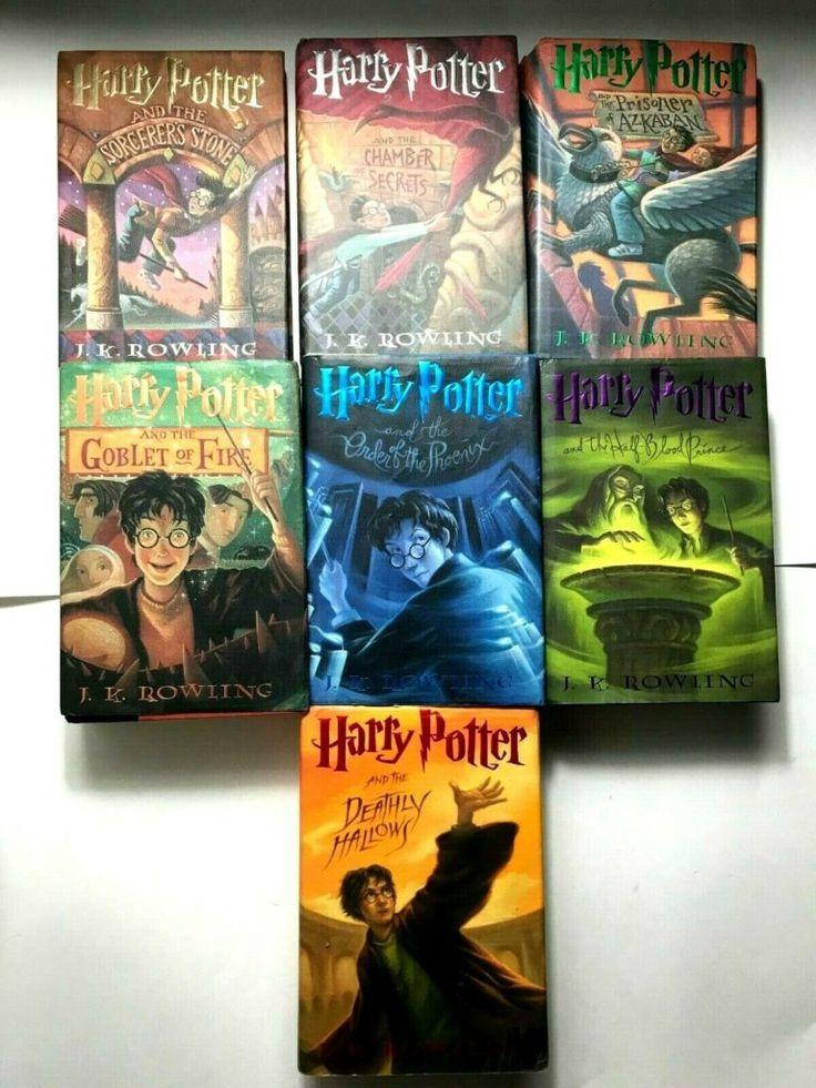 Harry potter complete hardcover book set 1234567