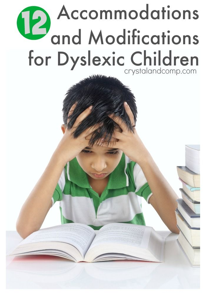 12 Lodging and Modifications for Dyslexic Kids in Public Faculty