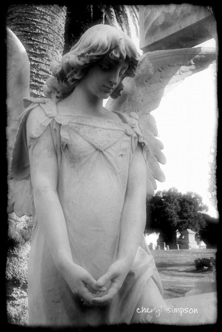 Angel8 Angel statues, Cemetery angels, Angel art