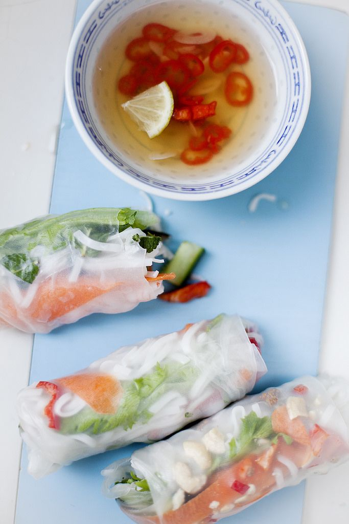 vietnamesiska vårrullar
