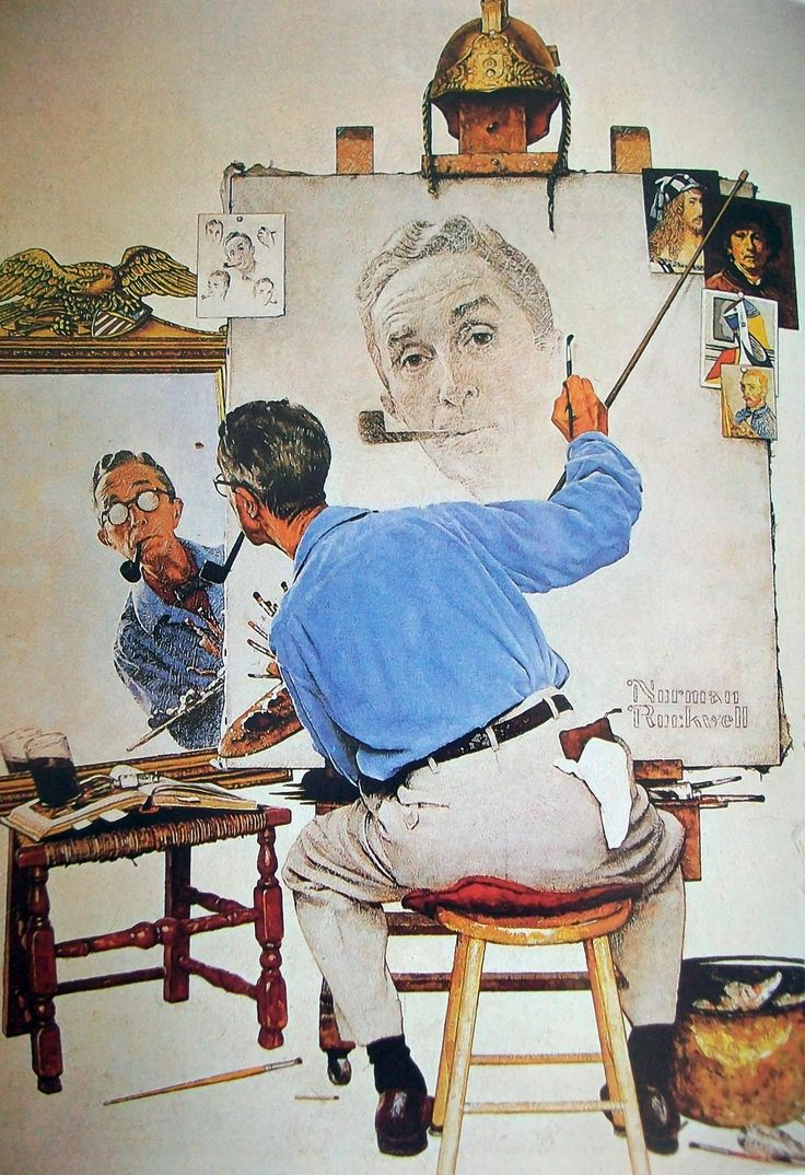 norman rockwell - Google Search