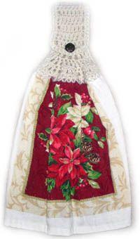 Crochet Spot » Blog Archive » Crochet Pattern: Easy Towel Topper - Crochet Patterns, Tutorials and News
