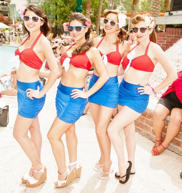 249 best viva las vegas pool party images on pinterest for Pool show vegas 2015