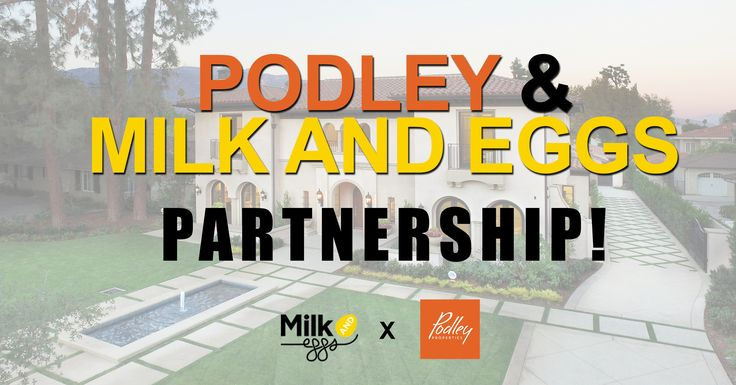 We are pleased to announce our partnership with Podley Properties, a trusted and highly regarded #realestate brokerage firm with 6 locations in Southern California! https://milkandeggs.com/blogs/food-health-and-eating/special-podley-gift-to-clients-from-milk-and-eggs #cali #california #socal #properties #housing #milkandeggscom #southerncalifornia #podley #podleyproperties
