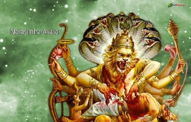 narasimha god images Download