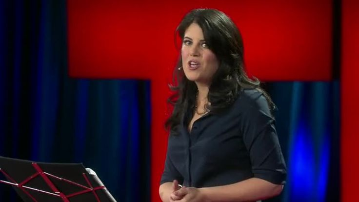 Monica Lewinsky at TED: 'You Can Insist on a Different Ending to Your Story' by Chip Cutter via slideshare