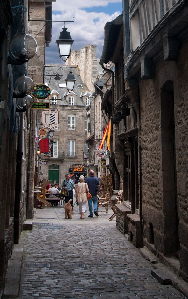 Dinan, Brittany_ France