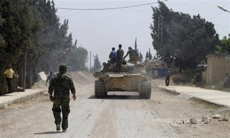 Syria: Hundreds of Tawheed brigade Syrian rebels enter the besieged city of Qusair » Wars in the World