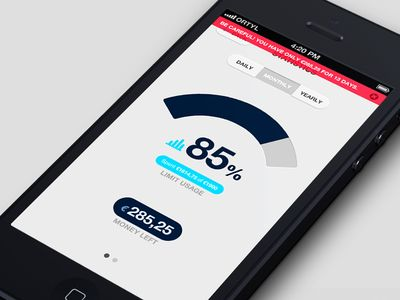 Spending Statistics Screen