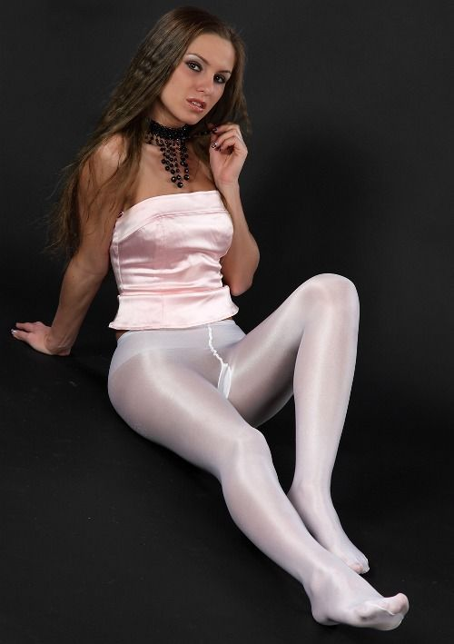 Women addicted to pantyhose
