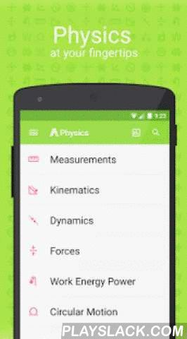 Aha! Physics  Android App - playslack.com ,  A Level Physics is the best mobile app for Physics students. Designed around the GCE A-Level physics examinations, this app is suitable for: * Junior college physics students (Singapore)* O-level and secondary school students* Grade ten, eleven or twelve physics students * First year university physics studentsFeatures:★ All the physics formulae and key definitions at your fingertips★ Essential study notes - including advanced derivations and…