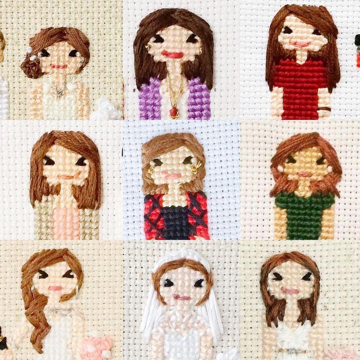 いいね!67件、コメント6件 ― Cross Stitch Portraitsさん(@familystitch)のInstagramアカウント: 「Per request, shout out to the red(ish) heads....poor y'all don't even get an emoji ❤️❤️❤️❤️❤️」