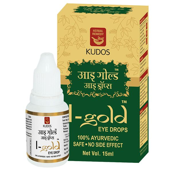 Kudos I Gold Eye Drop 15ml Buy Online at Best Price in India: BigChemist.com