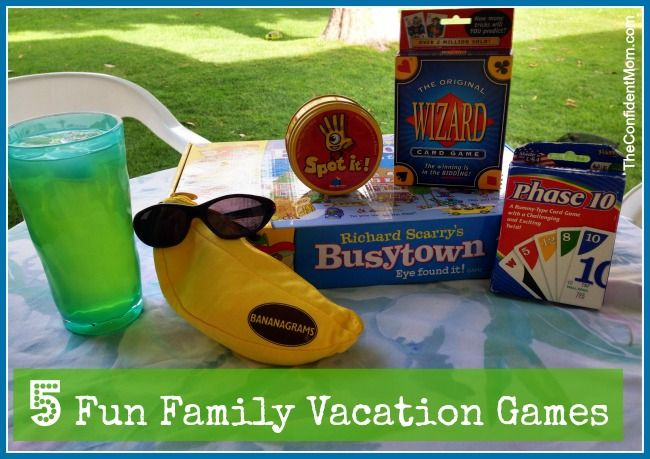 Fun Family Games - finding games that are fun and enjoyable by everyone in the family can be tough - here are our 5 Favorite ones right now!