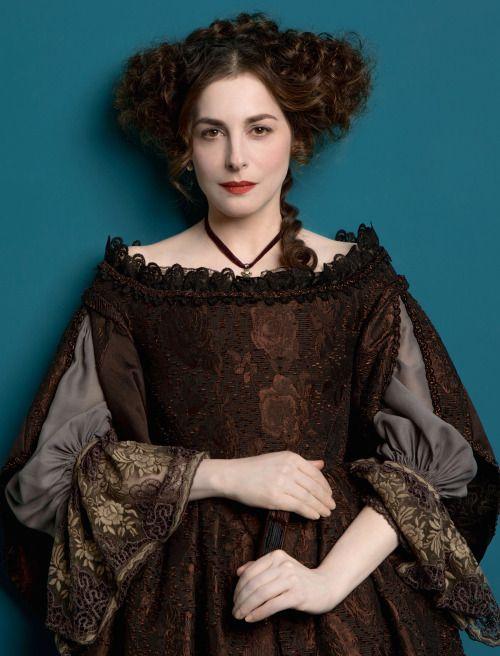 Amira Casar as Béatrice de Lorraine in Versailles (TV Series, 2015). (1 July 1662–9 February 1738)