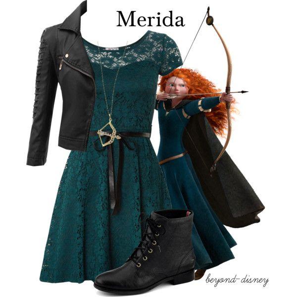 """Merida"" by beyond-disney on Polyvore"