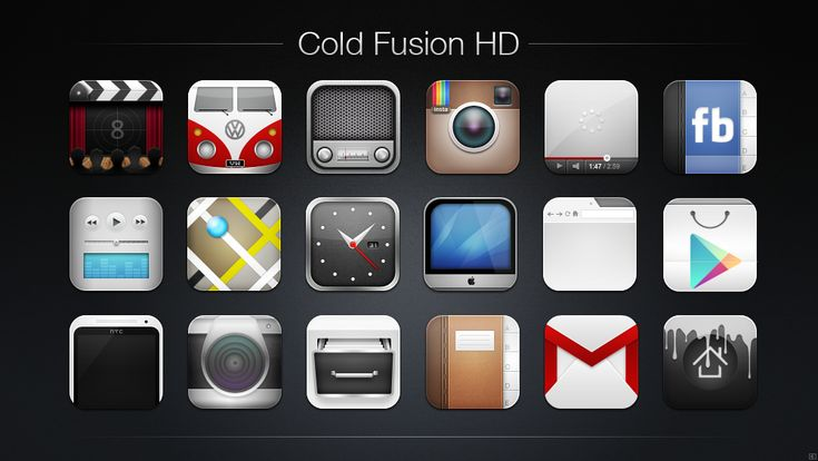 Cold Fusion HD Icon Pack by chrisbanks2.deviantart.com on @deviantART
