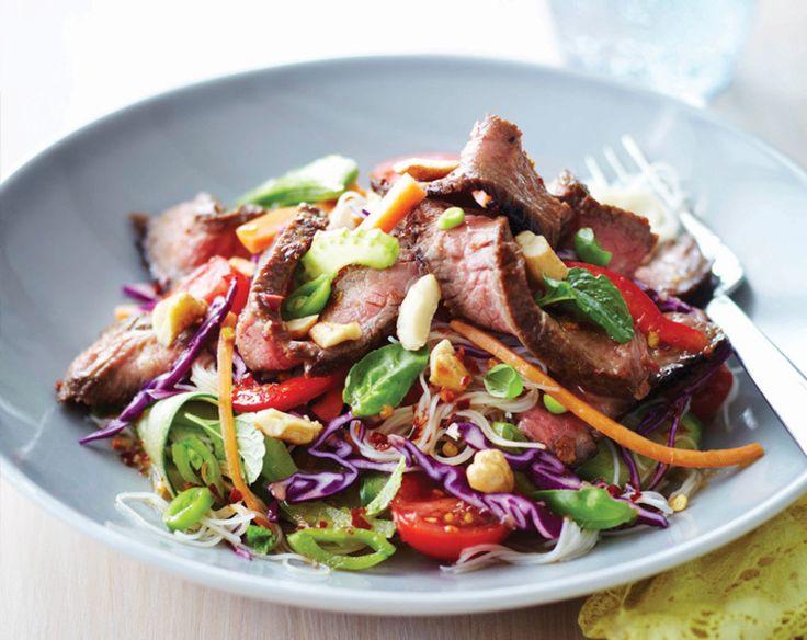 Vietnamese Beef & Noodle Salad