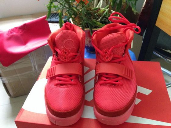 Super Perfect Air Yeezy 2 Red October