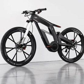 Amazing Audi e-Bike Has Segway-Like Wheelie Mode, Locks via Phone
