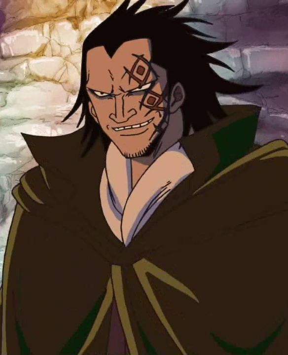 Luffy's father, Monkey D. Dragon, better known as leader of the revolutionary army
