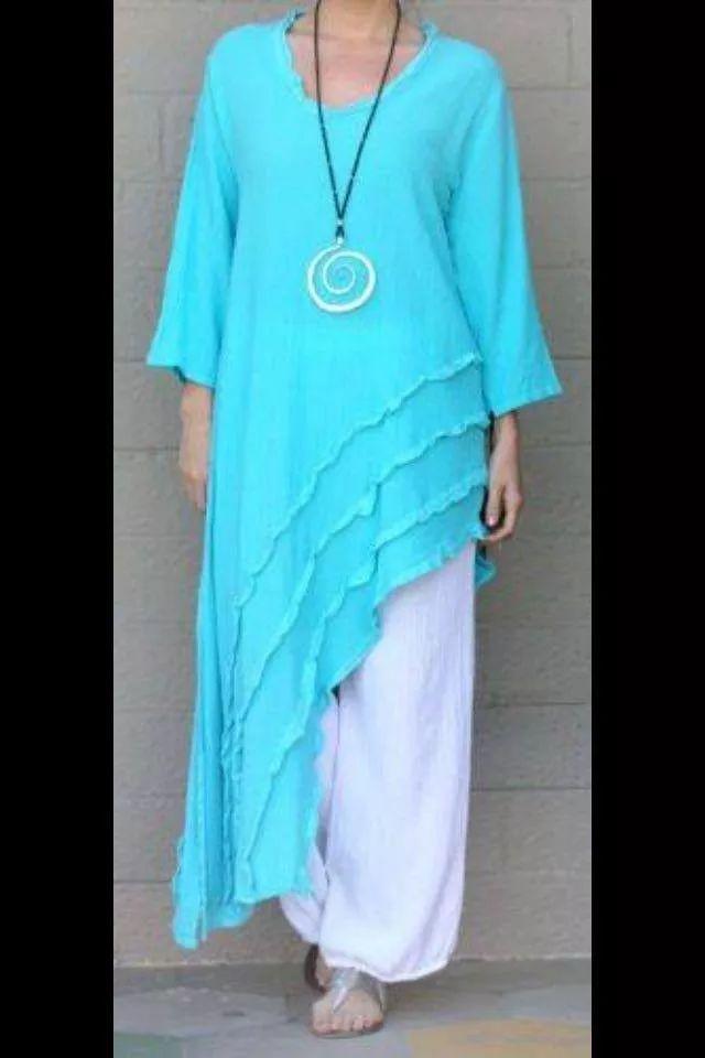 ropa de manta color