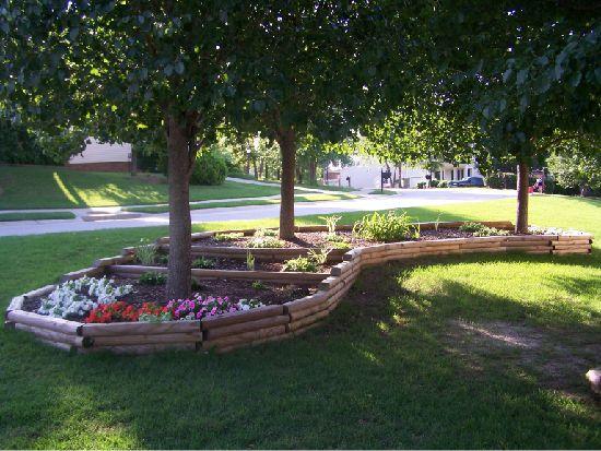 Secret Garden: 12 Best Interesting Design Ideas For The Area Around Trees