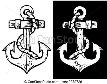 Anchor Black & White