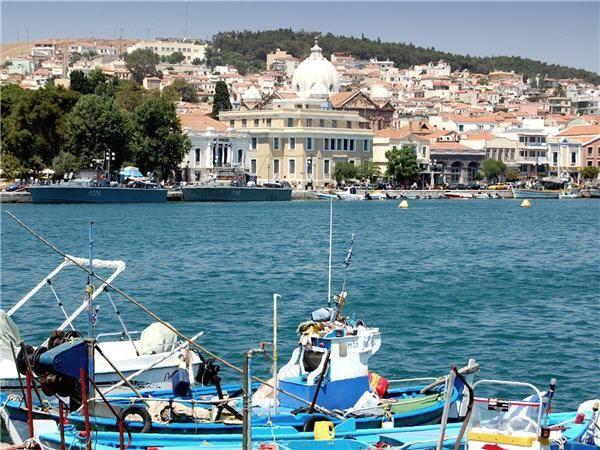 Lesvos, Port of Mytilene