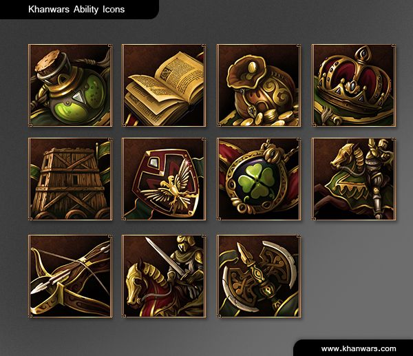 ChanWars Game Icons by ~ScriptKiddy on deviantART