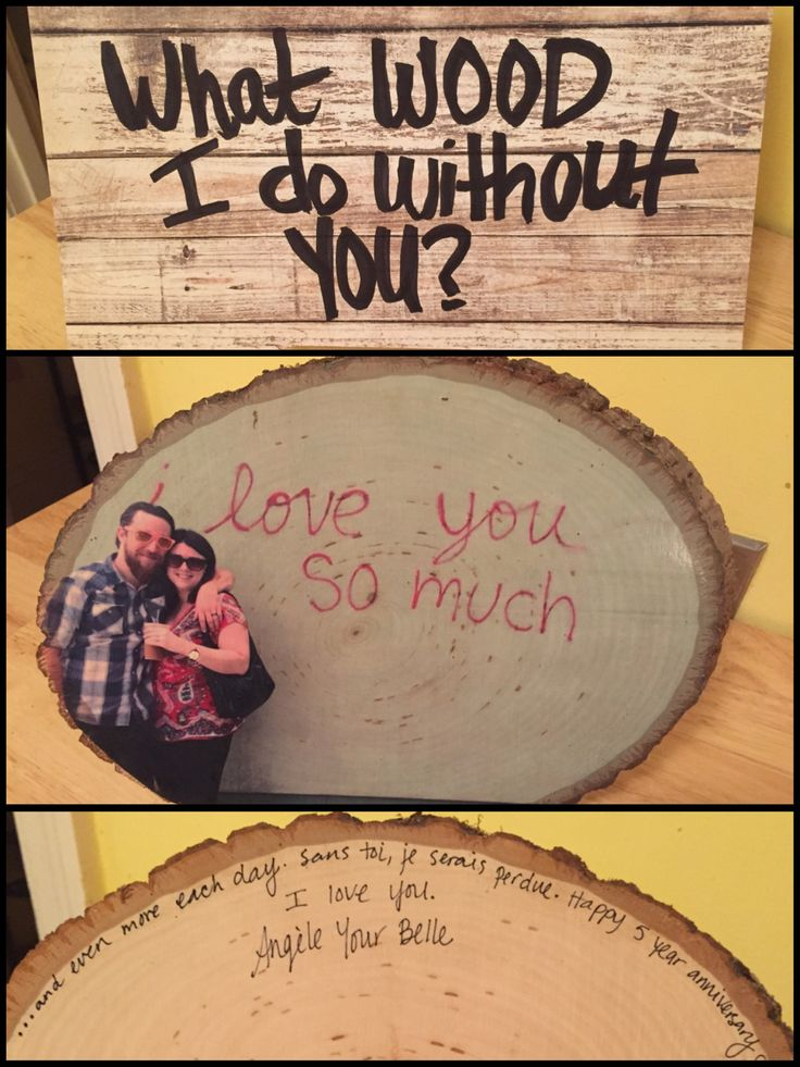 Wood Wedding Gift Ideas