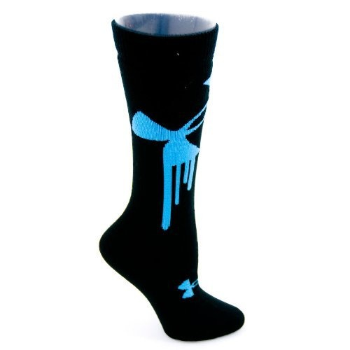 Under Armour Drip Youth Ski Snowboard Socks Black/Blue Large by Under Armour, sweet design  http://www.amazon.com/dp/B008FKHTXS/ref=cm_sw_r_pi_dp_gvdcrb1RNSE21