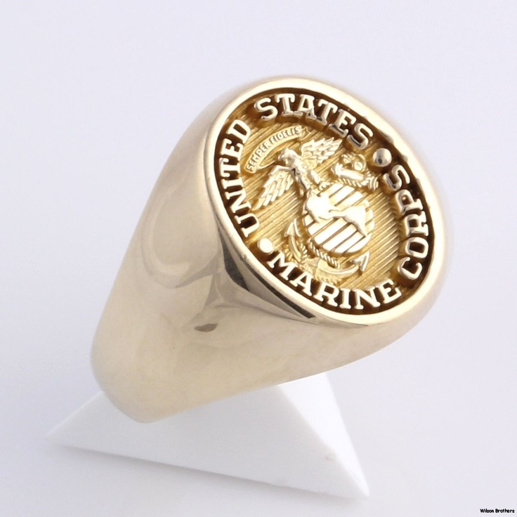 14kt Marine Corps Signet Ring The Consensus Seems To Be