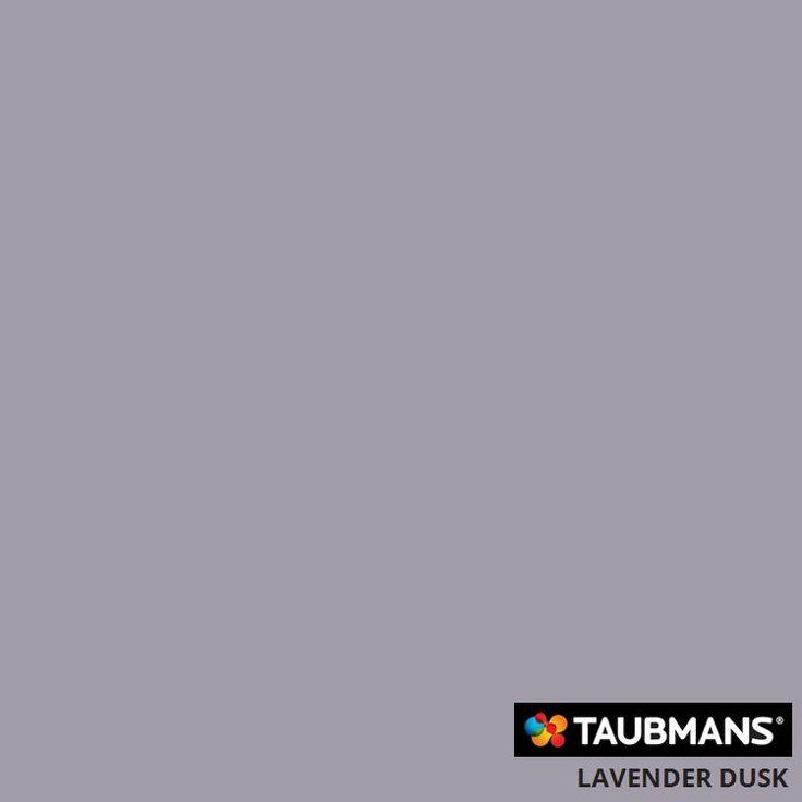 #Taubmanscolour #lavenderdusk