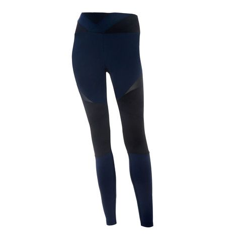 Shop the BodyByByram Navy & Black Nyx Legging online at pamelascott.com. Receive free delivery to Ireland on all orders over €50!
