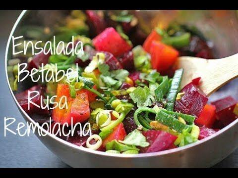 Ensalada Betabel // Rusa // Remolacha