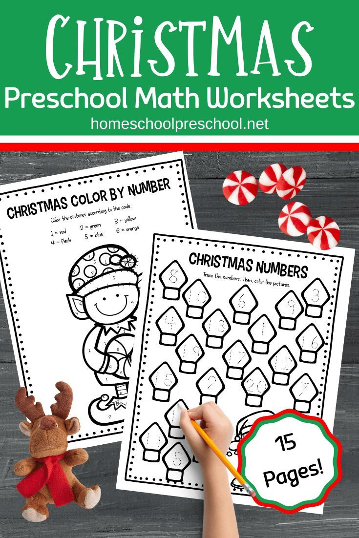 Free Christmas Math Worksheets For Preschoolers Christmas Math Christmas Math Worksheets Preschool Christmas Worksheets [ 1102 x 735 Pixel ]