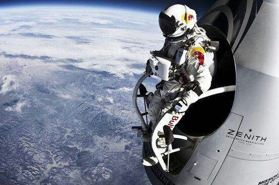 Astronaut from ISS