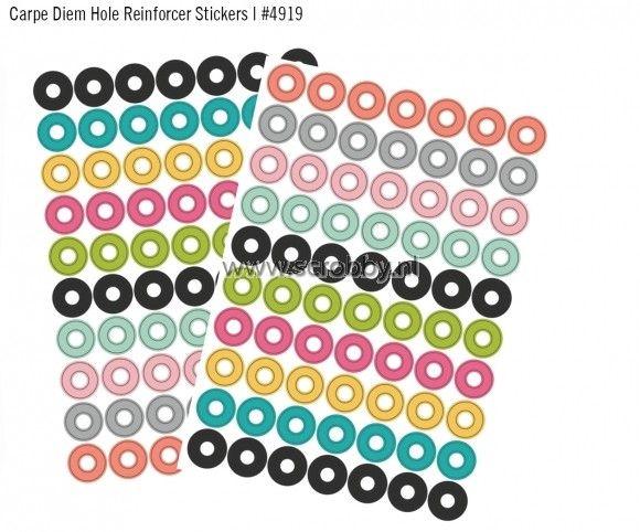 Simple Stories Carpe Diem Stickers 4x6 Hole Reinforcer | €3.40