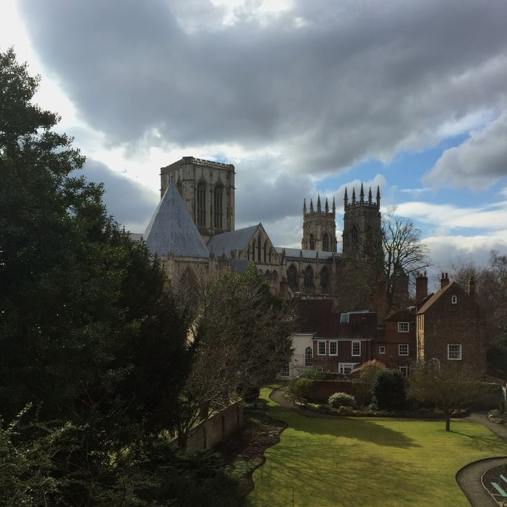 York Minster from the City walls