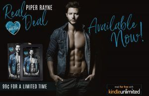 Real Deal goes Live YAY. - Piper Rayne   REAL DEAL  (Single Dads Club #1)  A Sexy RomCom Standalone  EXCERPT  There are at least ten camp counselors currently standing in the water watching the children and six of them are female. Victor doesnt understand the epidemic hes going to have on his hands. The longer I sit there the more dads find their way down to the lake thinking its an everyday Thursday pickup. To their surprise its a teenage boys wet dream. And maybe that teenage boys dads…