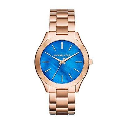 Chollo en Amazon España: Reloj Michael Kors Slim Runway por solo 97,87€ (un 22% de descuento sobre el precio de venta recomendado y precio mínimo histórico)