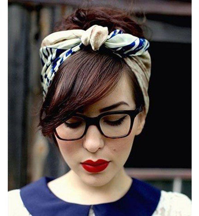 femme coiffure avec foulard 3 mode pinterest coiffure avec foulard foulards et coiffures. Black Bedroom Furniture Sets. Home Design Ideas