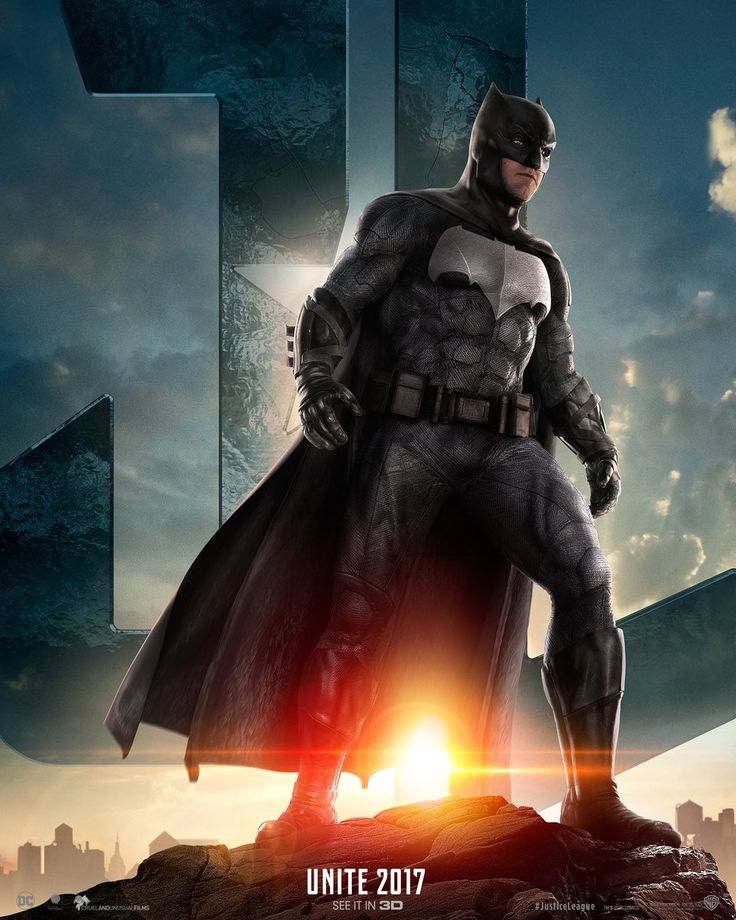 Batman poster from Justice League
