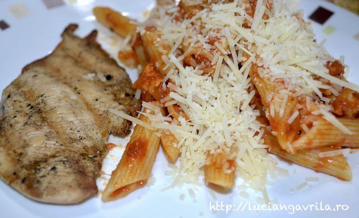 European Dinner with American Ingredients
