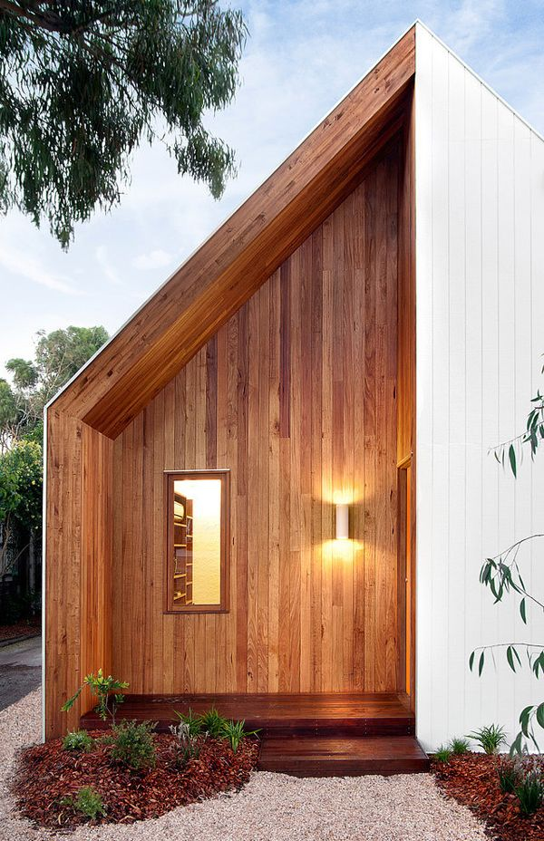 Tiny weatherboard beach shack renovation in Barwon Heads