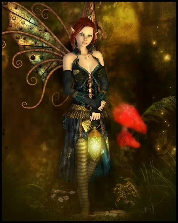 Fairy. Fae. Faery. Fairies. Fantasy art . SJF