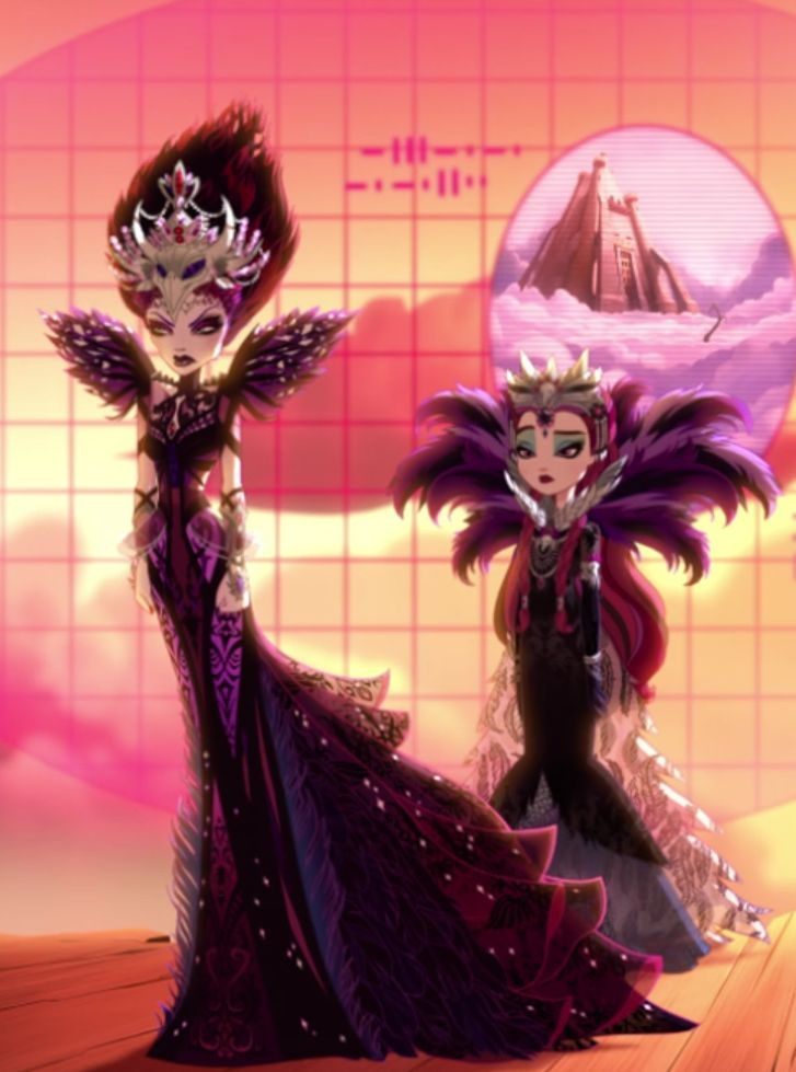The Evil Queen amp Raven Ever After High Pinterest