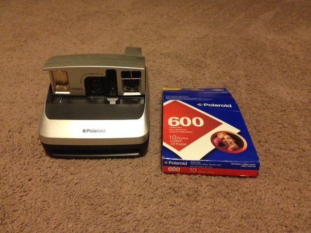 Polaroid One600 Instant Camera + Film by HappyHollowTreasures on Etsy